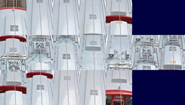 近鉄2050系2052F(RC51)屋根上(名古屋方より撮影) 2012.10.11