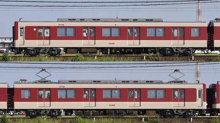 近鉄1233系1248F(VC48)海側側面 2012.10.15