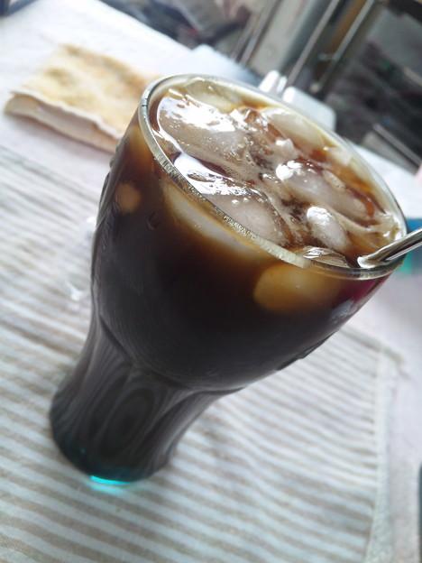 ネスカフェ プレジデントで、アイスコーヒー