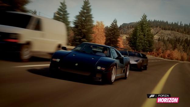 フェラーリ F40とランボルギーニ レヴェントン ロードスター #ForzaHorizon