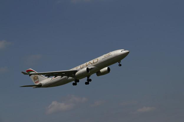 ETIHAD Airbus A330-243(A6-EYL) 最終着陸態勢