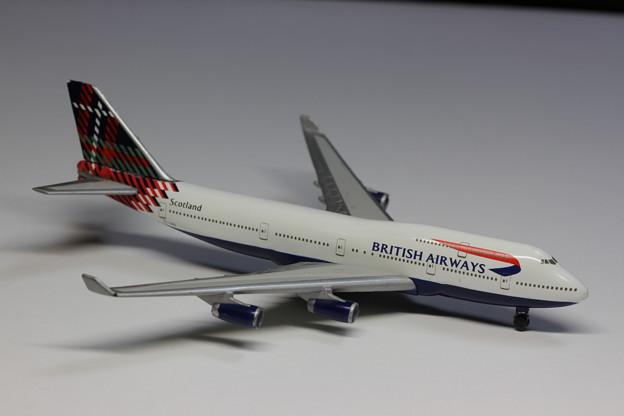 British Airways Boeing 747-400 Scotland (1)