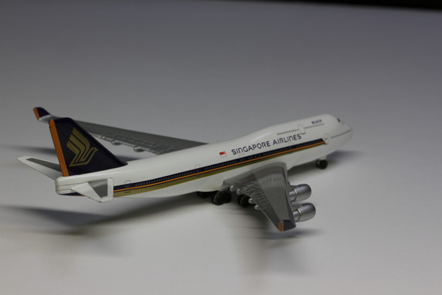 Singapore Airlines Boeing 747-400 (2)