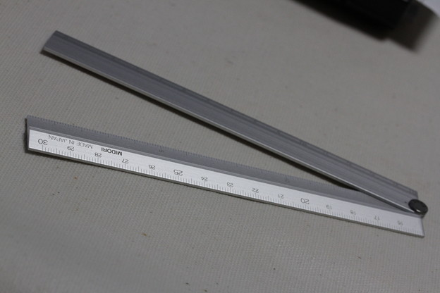 MIDORI Aluminum 30cm multi ruler(ミドリ アルミニウム 30cm マルチ ルーラー)