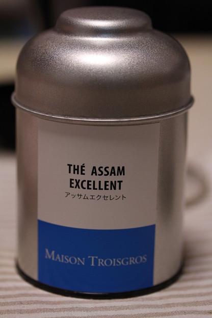 MAISON TROISGROS THE ASSAM EXCELLENT(メゾン トロワグロ アッサム エクセレント)缶