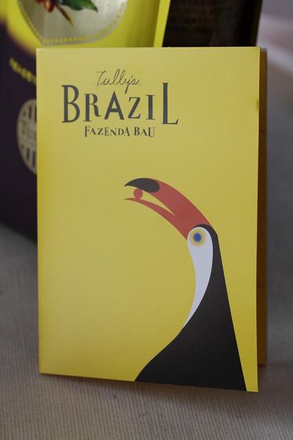 TULLY'S CUPPER RESERVE COLLECTION TULLY'S BRAZIL FAZENDA BAU YELLOW BOURBON PASSA 冊子1