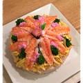 Photos: ちらし寿司ケーキ