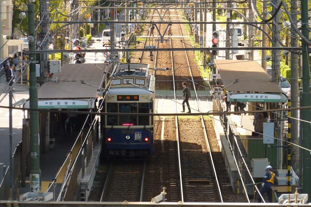 Photos: 都電荒川線町屋駅前電停