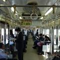 京成3500形更新車の車内