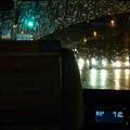 写真: 突然の雨