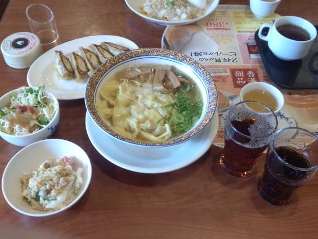 写真: バーミヤン八幡山駅前店にて?