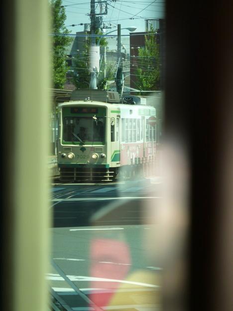 Photos: 都電の車窓から…