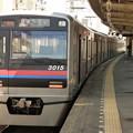 写真: 京成小岩駅ホームにて…(1)