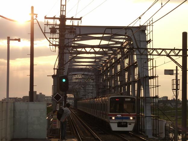 夕陽の輝き(1)