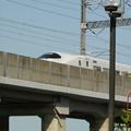 新幹線と萩の月