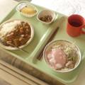 Photos: 手術前の昼食