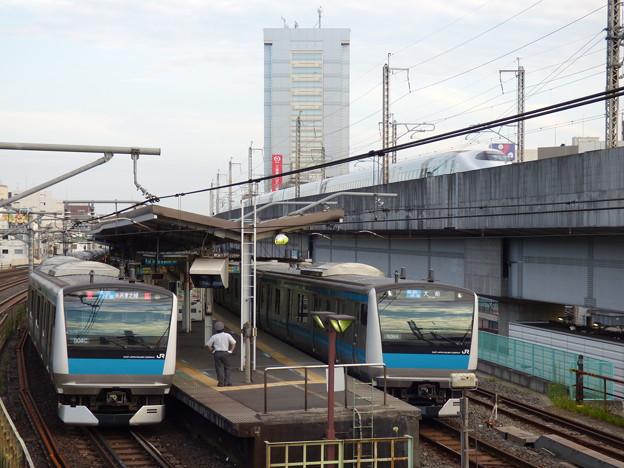 Photos: 早朝の跨線橋から(4)
