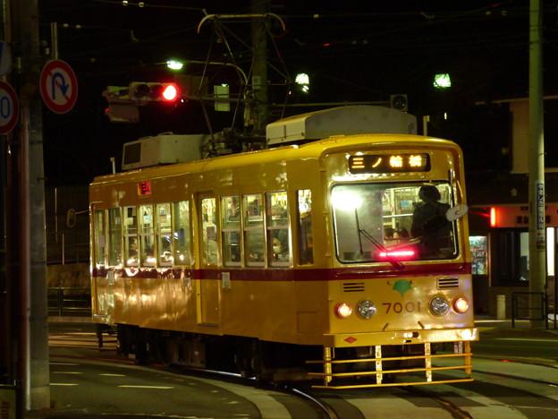 「赤帯車」になった7001号車?