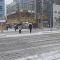 Photos: 雪の横断歩道