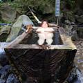 猿ヶ京温泉・ホテル湖城閣 寝湯年輪風呂