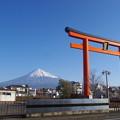 今日の富士山(2013/12/31)その1