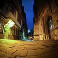 写真: オックスフォード街中にある路地