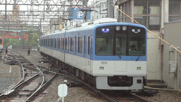 阪神5551F 普通梅田行き