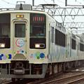 北春日部駅中線から発車する634型