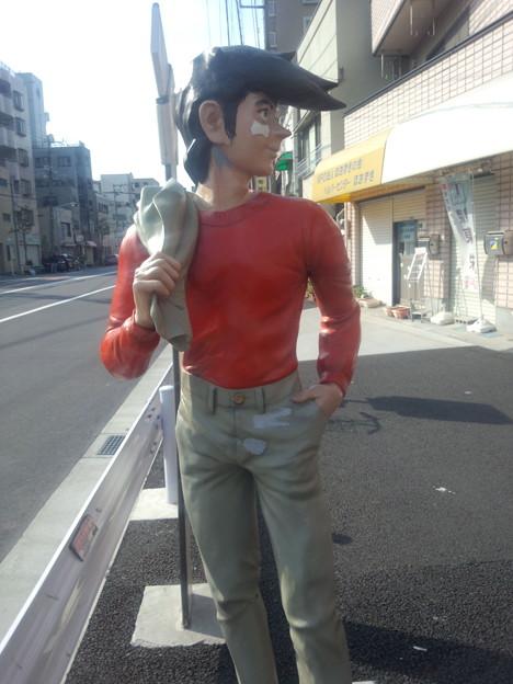 Photos: 山谷いろは商店街の「あしたのジョー」