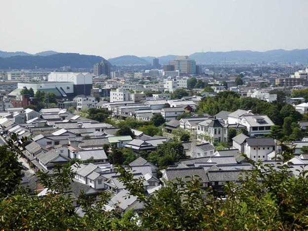 阿智神社からの眺め(岡山県倉敷...