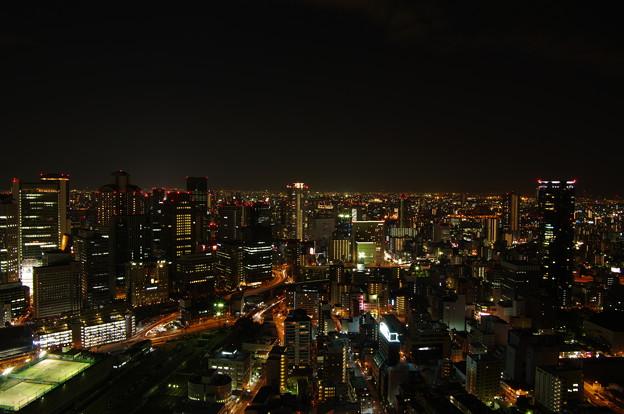 空中庭園からの夜景
