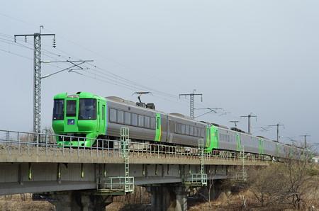 785系+789系スーパー白鳥
