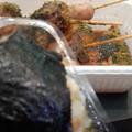 写真: 浜松SAにて静岡おでんとたぬきむすび!