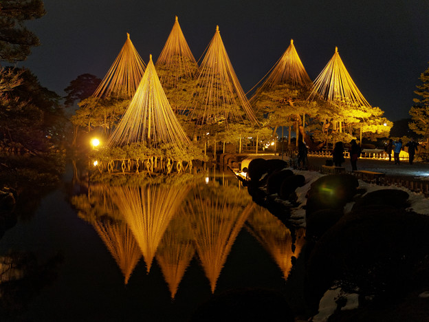 金沢の冬景色