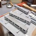 ガインエクスプローラーGEX300(列車記号G301)組み上げ状況