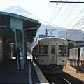 富士が見える駅(2)
