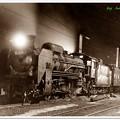 SL夜行貨物列車