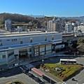 富士が見える駅(4)