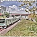 Photos: JR横浜線(水彩画)