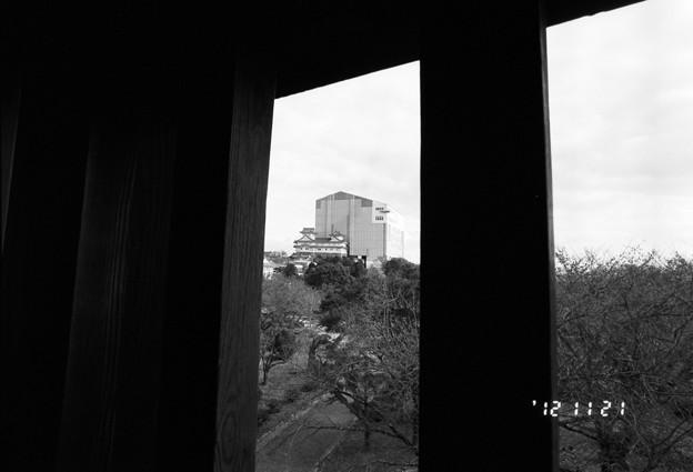 櫓の窓から