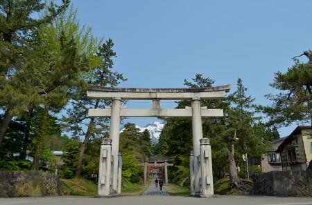 岩木山神社・一の鳥居
