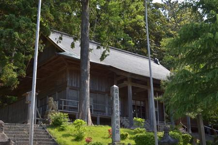 鳥海山大物忌神社・吹浦口之宮 下拝殿