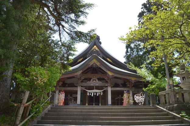 写真: 太平山三吉神社