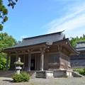 写真: 鳥海山大物忌神社・吹浦口之宮 拝殿