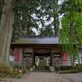 写真: 早池峰神社 大迫・随身門