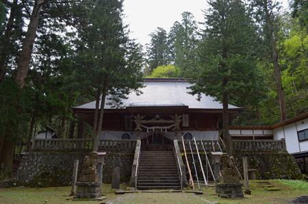 早池峰神社 大迫・拝殿