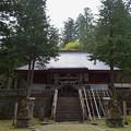写真: 早池峰神社 大迫・拝殿