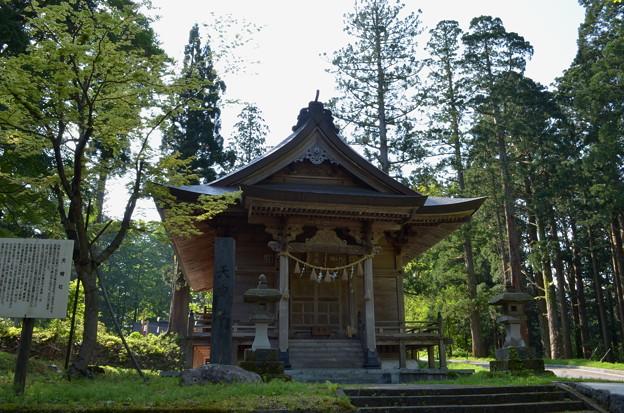 写真: 出羽神社・天宥社