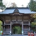 写真: 榛名神社・隋神門
