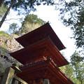 写真: 榛名神社・三重塔